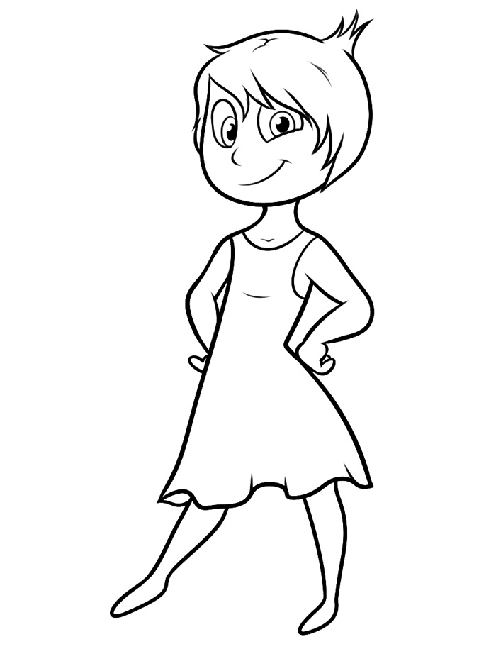 700x922 Inside Out Coloring Pages
