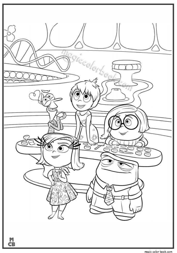 685x975 Inside Out Coloring Pages Free Printable