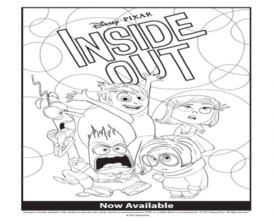 400x322 Coloring Pages Of Disgust From Inside Out Page Image Clipart