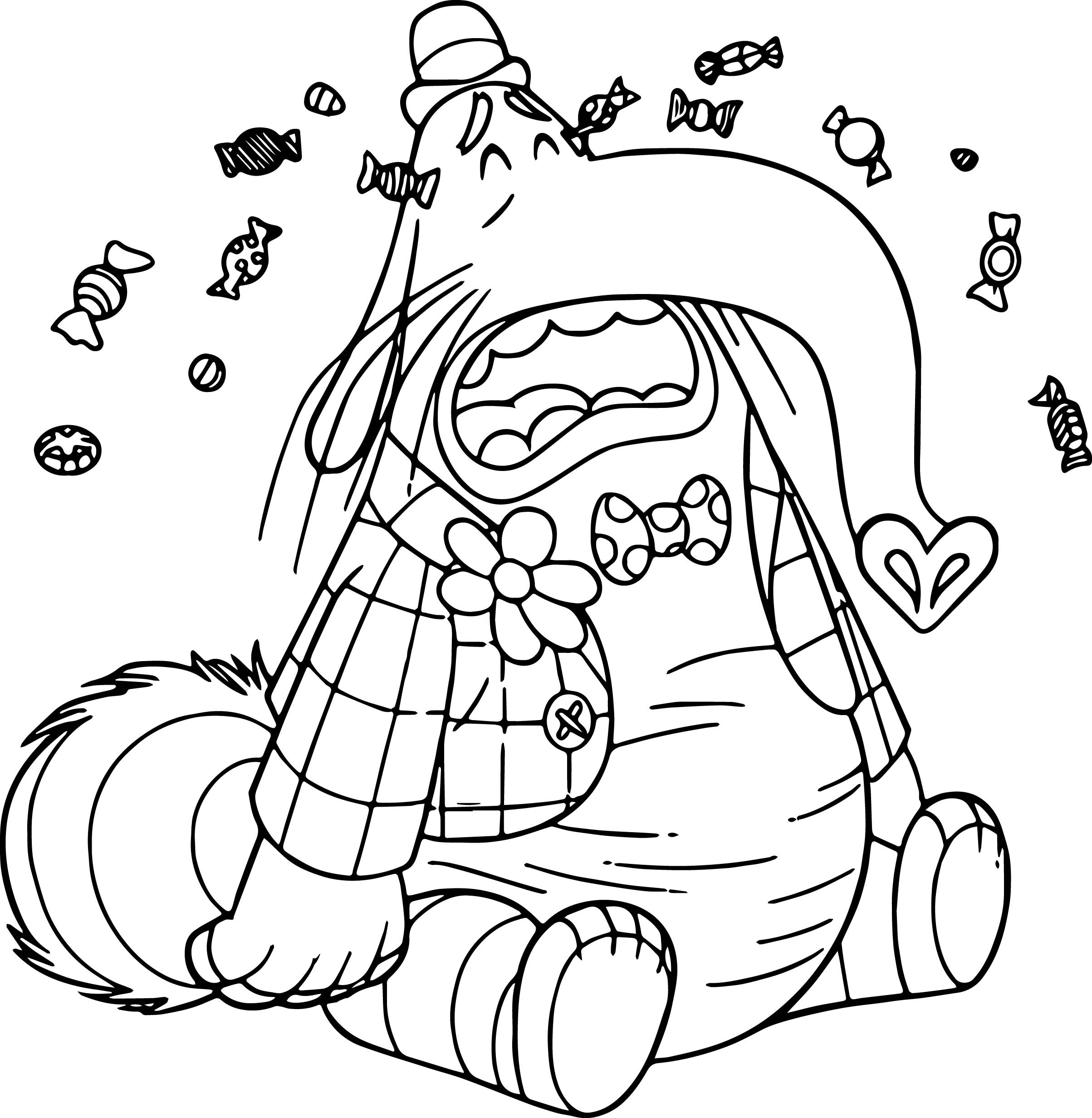 2407x2464 Free Coloring Pages Inside Out Movie Best Of Bingbong Cry