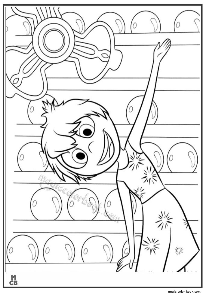 685x975 Best Inside Out Coloring Pages Free Images