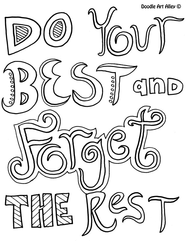 618x799 Inspirational Quotel Coloring Pages