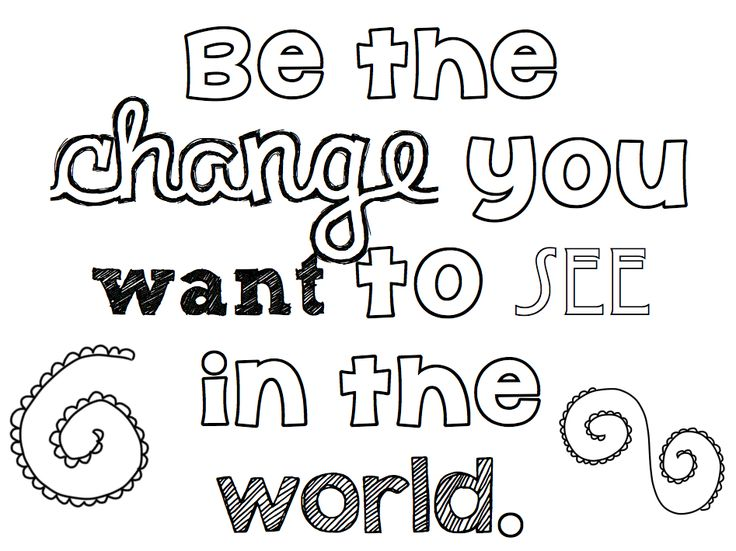 736x551 Inspirational Quotel Coloring Pages