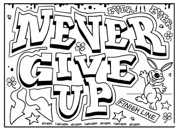 600x437 Inspirational Quotes Coloring Pages Fit