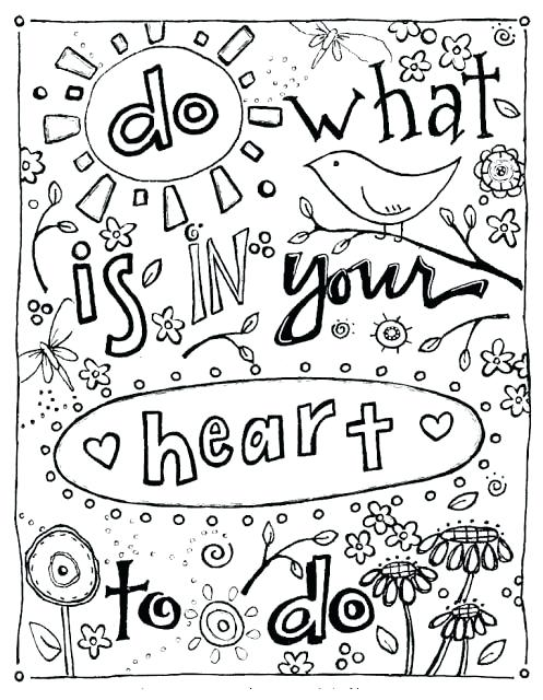497x640 Coloring Pages Quotes