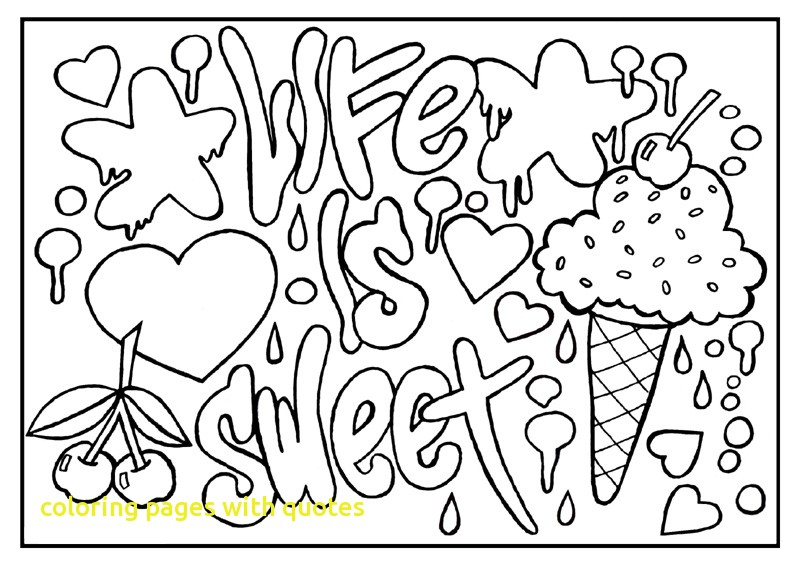 800x564 Coloring Pages With Quotes With Inspirational Quotes Coloring