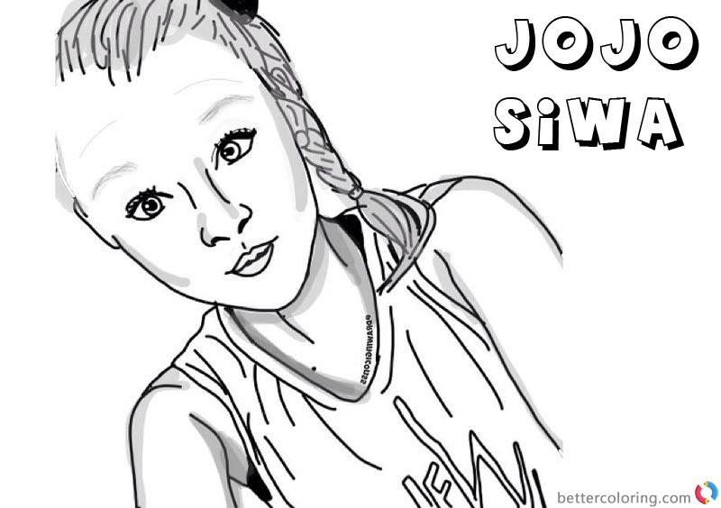 800x564 Jojo Siwa Coloring Pages