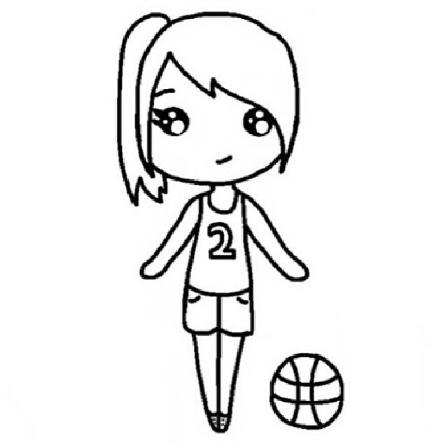 640x640 Modern Instagram Chibi Coloring Pages Ensign