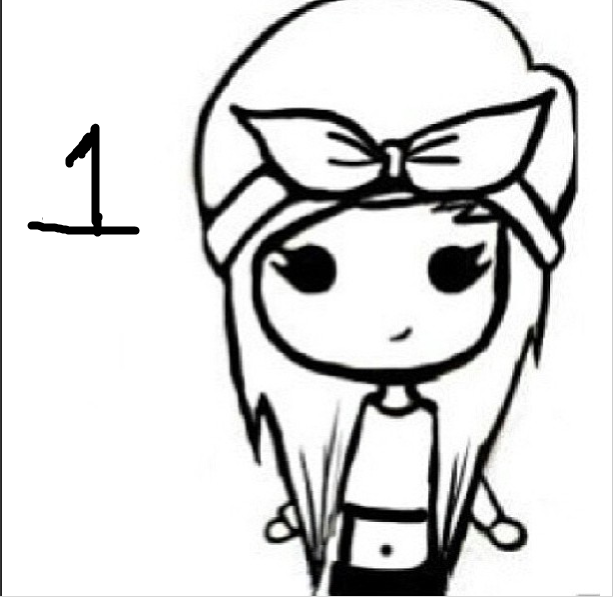 613x597 Modern Instagram Chibi Coloring Pages Ensign