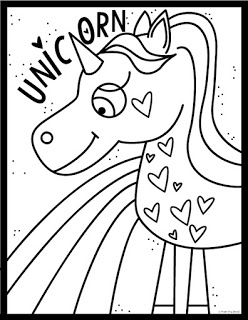 248x320 Unicorn A Rainbow Coloring Page From The Pond