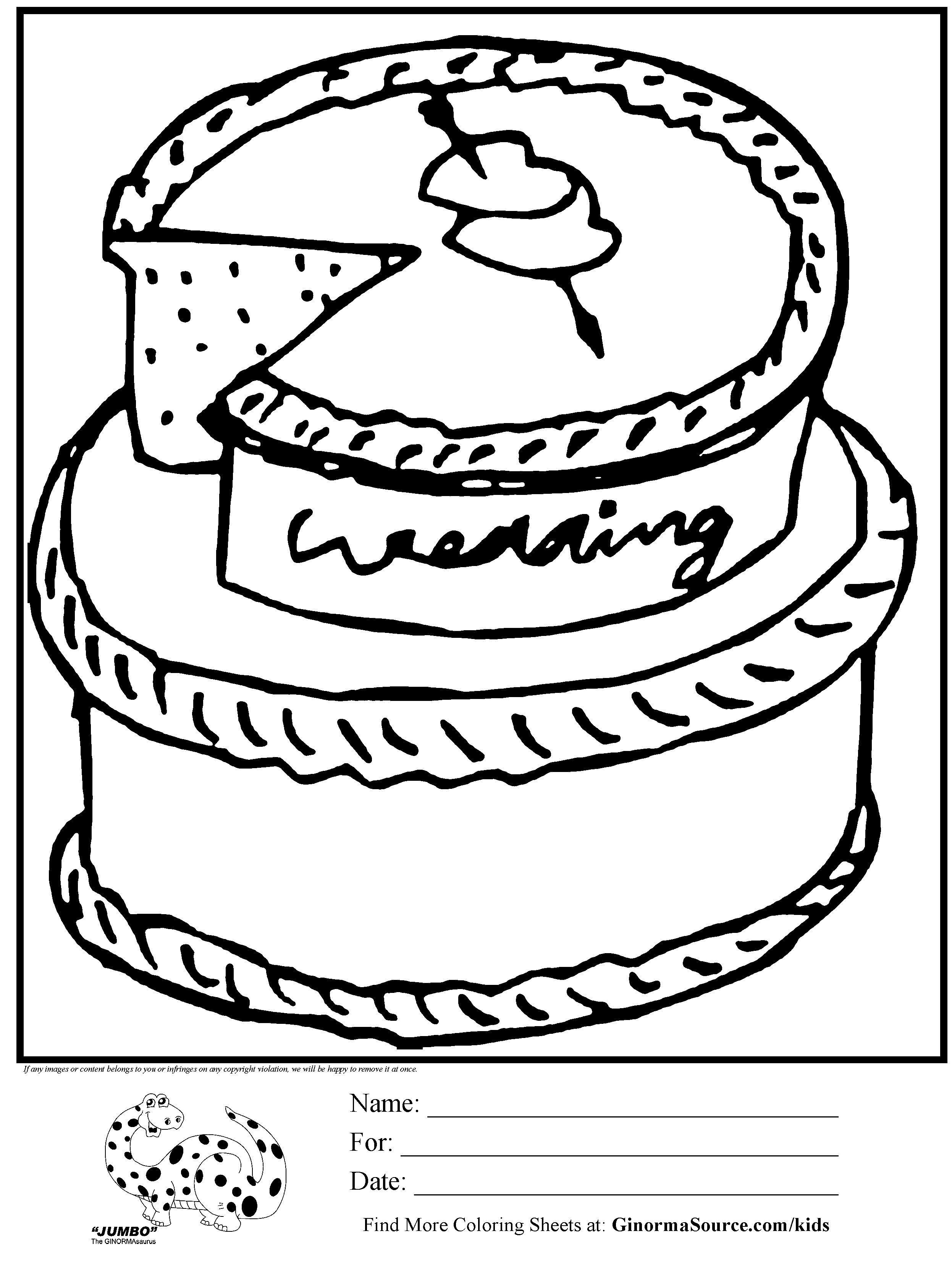 2493x3310 Wedding Cakes View Wedding Cake Coloring Pages Photos Instagram
