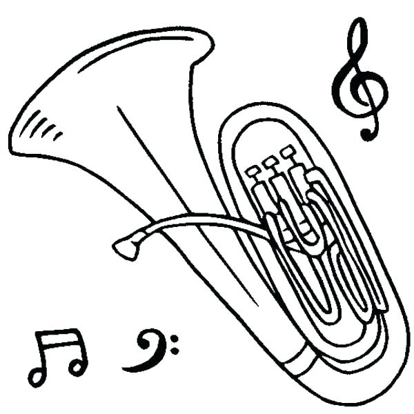 600x600 Instrument Coloring Sheets Instrument Coloring Sheets Musical