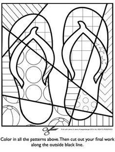 236x311 Pop Art Interactive Coloring Sheet Freebie For Springsummer