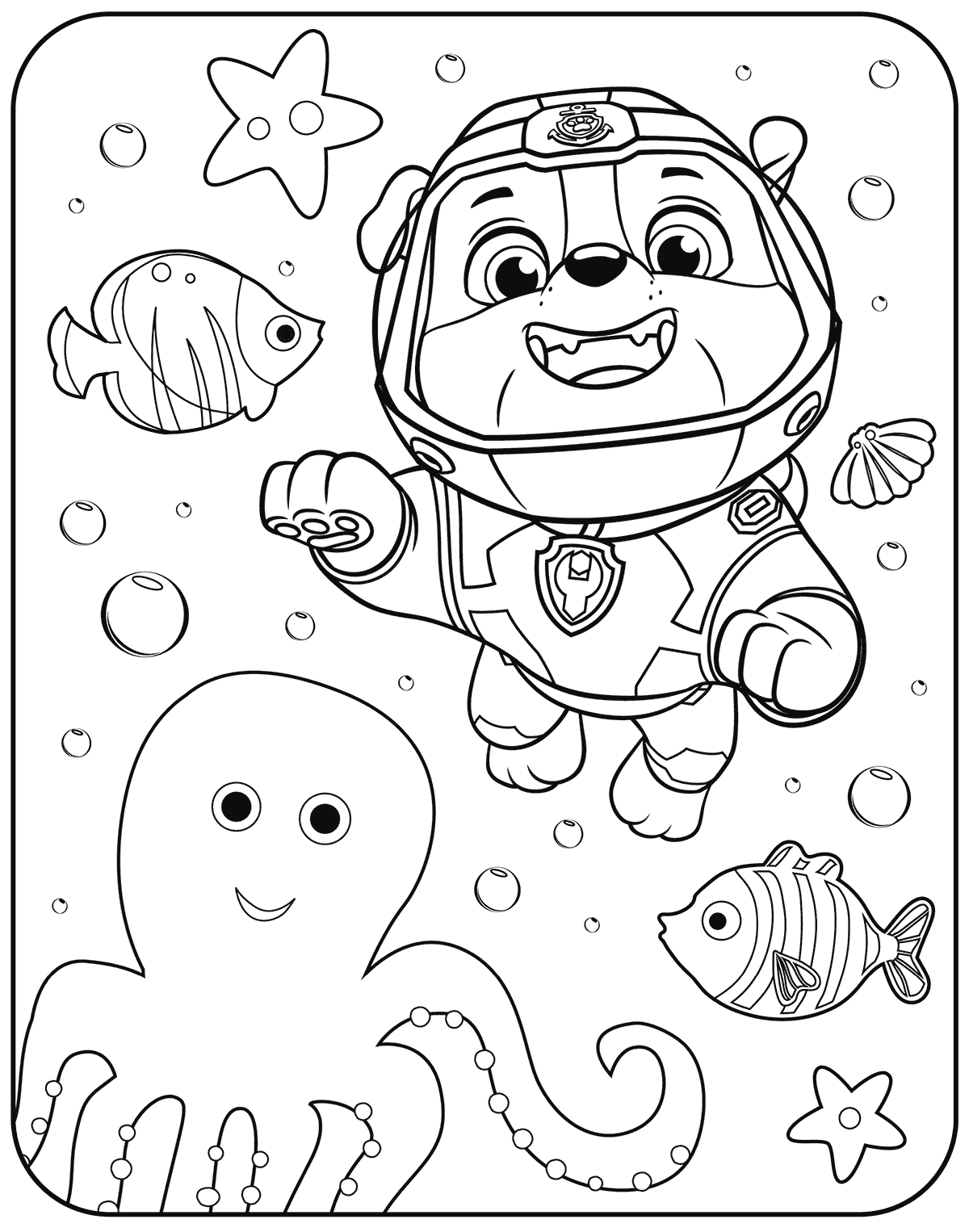 1200x1526 Interesting Paw Patrol Coloring Pages Robo Dog Free Printable