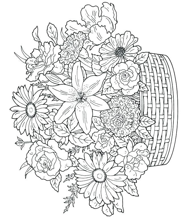 638x760 Free Printable Advanced Coloring Pages A Doodles Free Printable