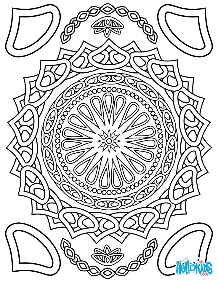 736x951 Free Printable Advanced Coloring Pages Printable Detailed Coloring