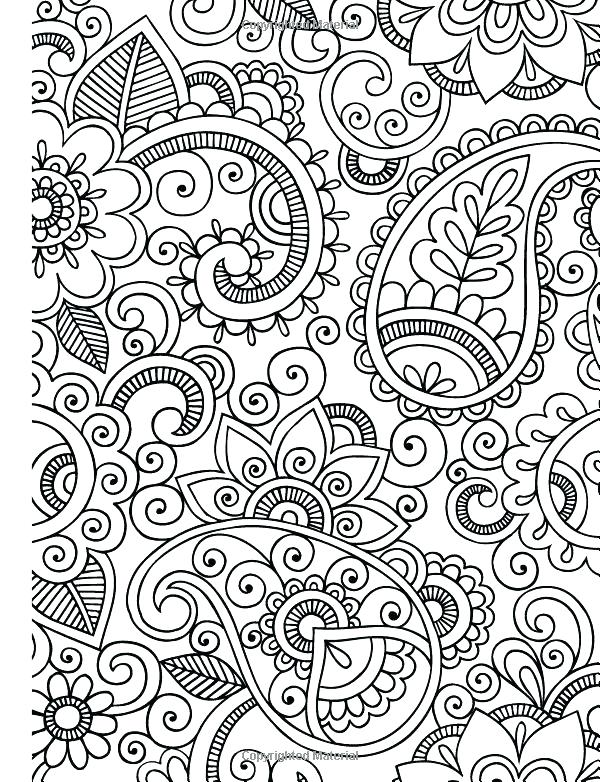 600x782 Free Printable Intermediate Coloring Pages Advanced With Colouring