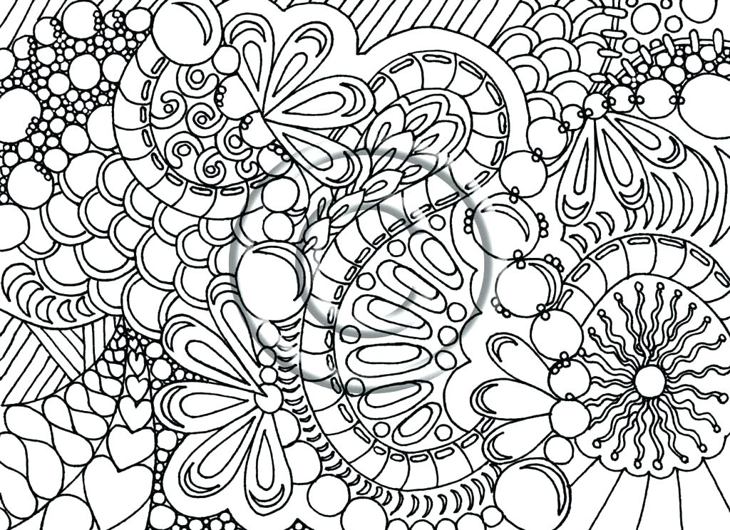 1024x744 Printable Advanced Coloring Pages Advanced Animal Coloring Pages