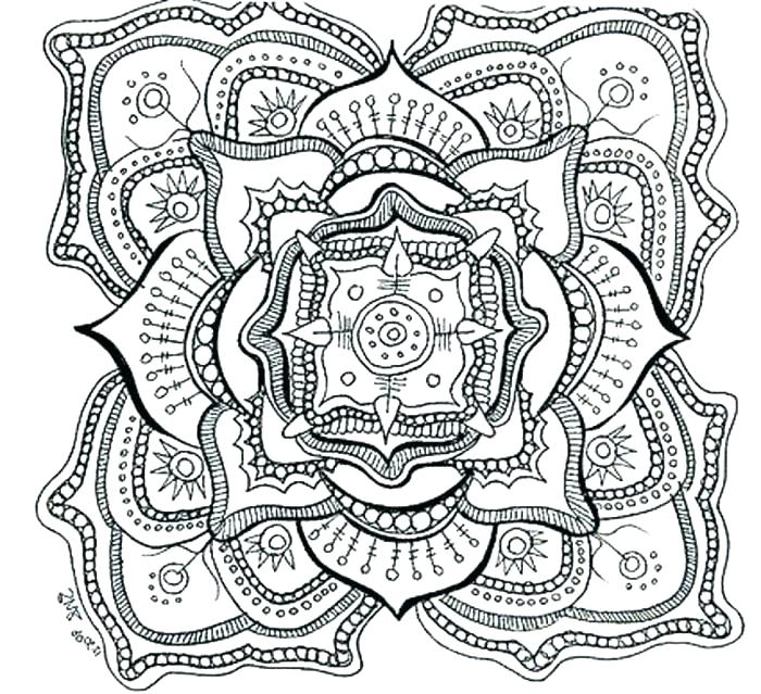 700x639 Printable Advanced Coloring Pages