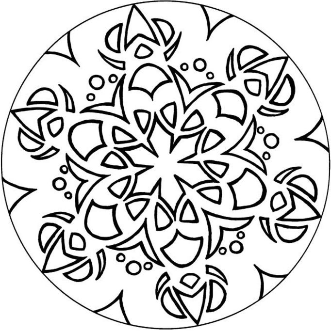 682x685 Advanced Coloring Pages The Sun Flower Pages