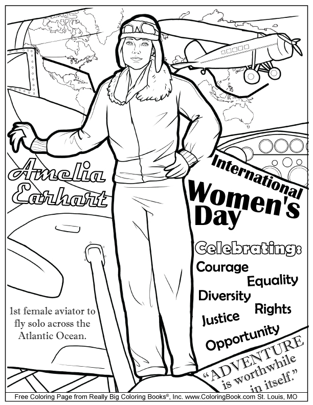 612x792 Coloring Books Free Online Coloring Pages International Women