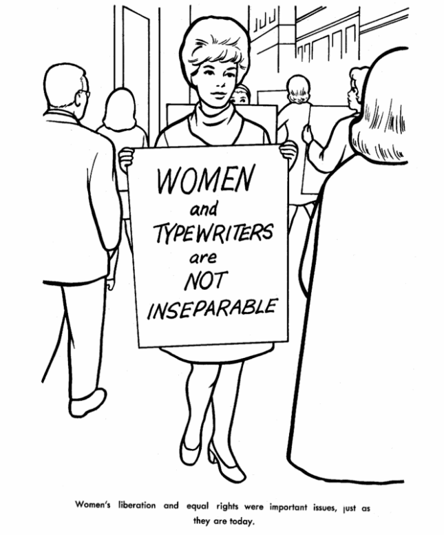 645x777 Free Printable International Women's Day Coloring Pages