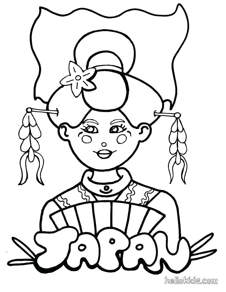 736x951 Japanese Coloring Pages Japan Flag Coloring Page Japan Coloring