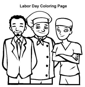 293x300 Labor Day Coloring Pages For Kids