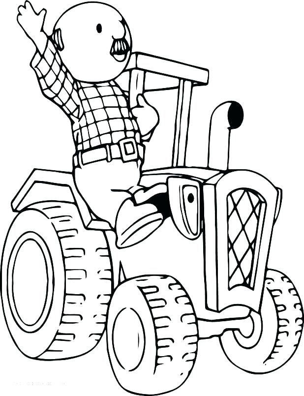 618x805 Tractor Coloring Page Tractors Coloring Pages International