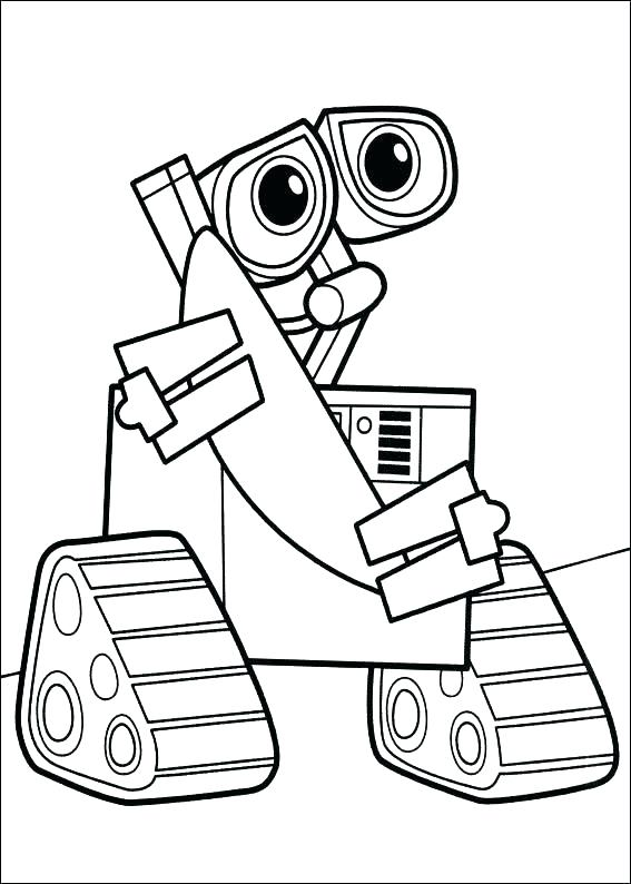 567x794 Appealing Tractor Coloring Page Appealing Robot Coloring Page
