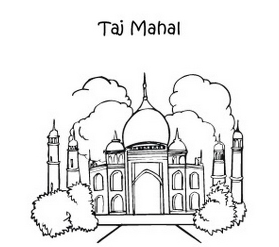 556x492 Coloring Pages For Ancient Wonders Of The World