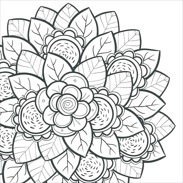 600x600 Intricate Coloring Pages Intricate Coloring Pages And Intricate