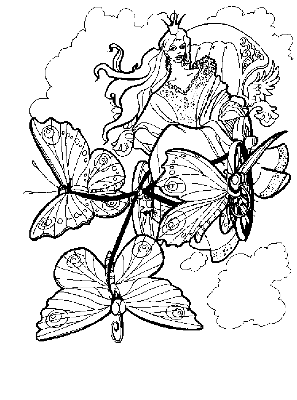 1000x1346 Noted Free Printable Fantasy Coloring Pages Fo