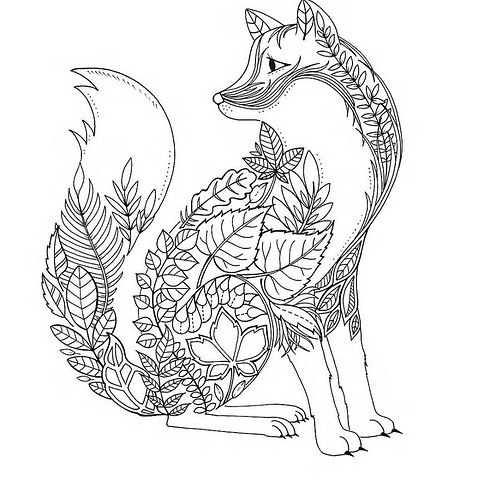 490x490 Bargain Intricate Coloring Pages Page