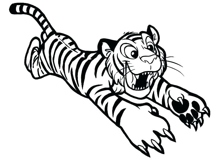 736x533 Coloring Pages Tiger Intricate Cat Coloring Pages For Adults Tiger