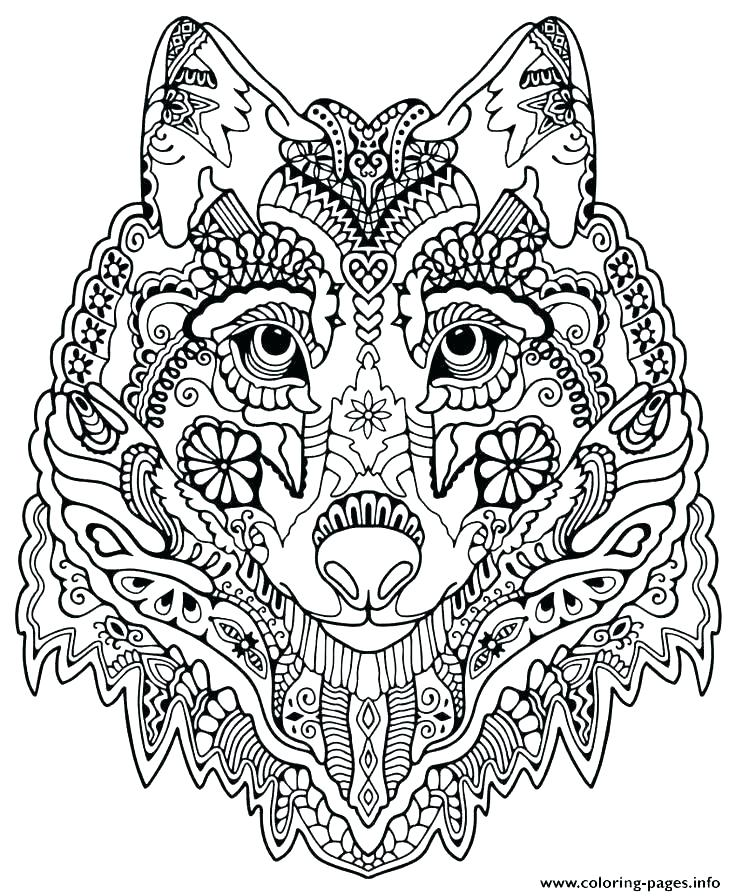 736x896 Mandala Coloring Cat Free Advanced Coloring Pages Free Advanced