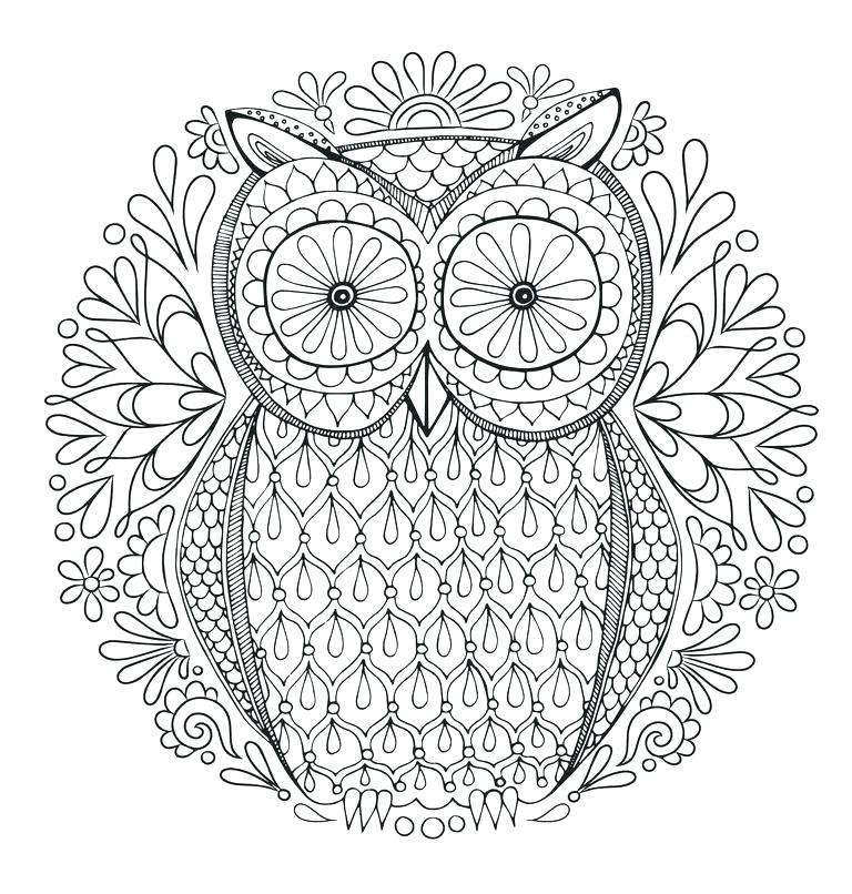 768x806 Intricate Coloring Pages Adults Intricate Coloring Pages Printable