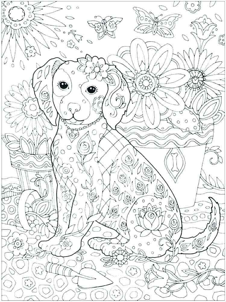 750x1000 Intricate Flower Coloring Pages Free Intricate Coloring Pages Free