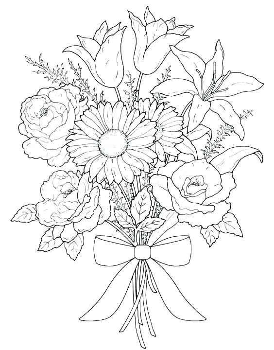 564x720 Intricate Flower Coloring Pages Intricate Coloring Pages