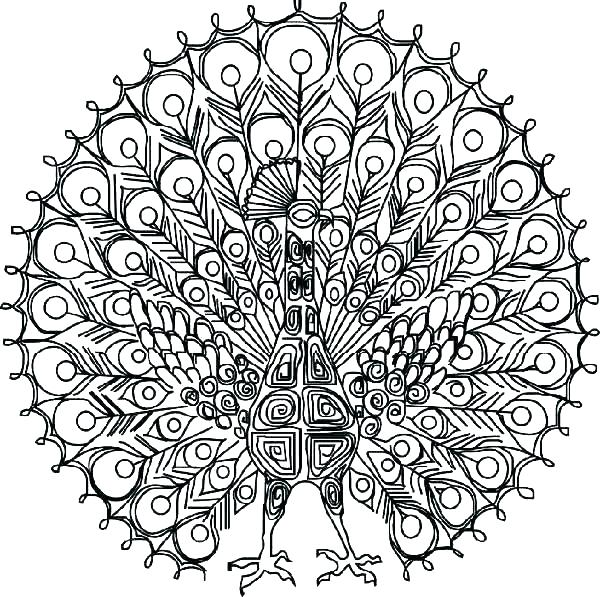 600x597 Intricate Coloring Pages Printable Intricate Coloring Pages