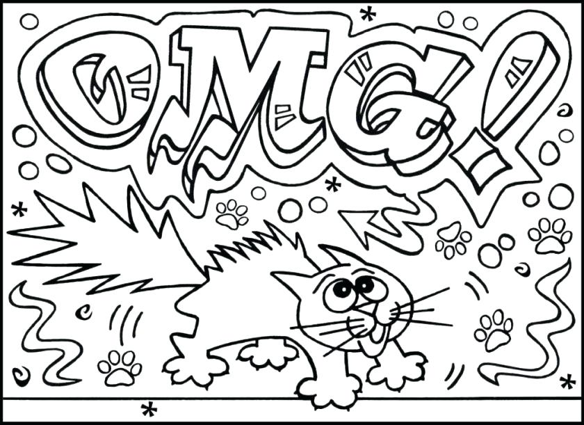 840x611 Unique Detailed Coloring Pages Printable And Very Challenging