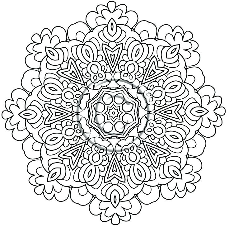 736x729 Intricate Coloring Pages Intricate Coloring Pages Also Intricate