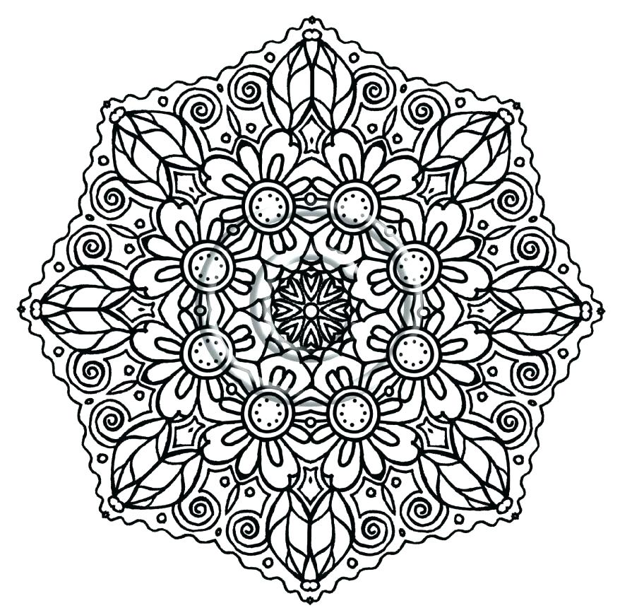 878x867 Difficult Coloring Pages Christmas Kids Coloring Intricate