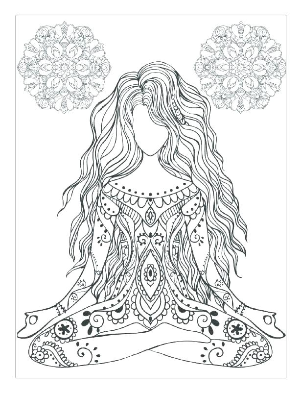 615x802 Free Design Coloring Pages Related Post Free Intricate Design