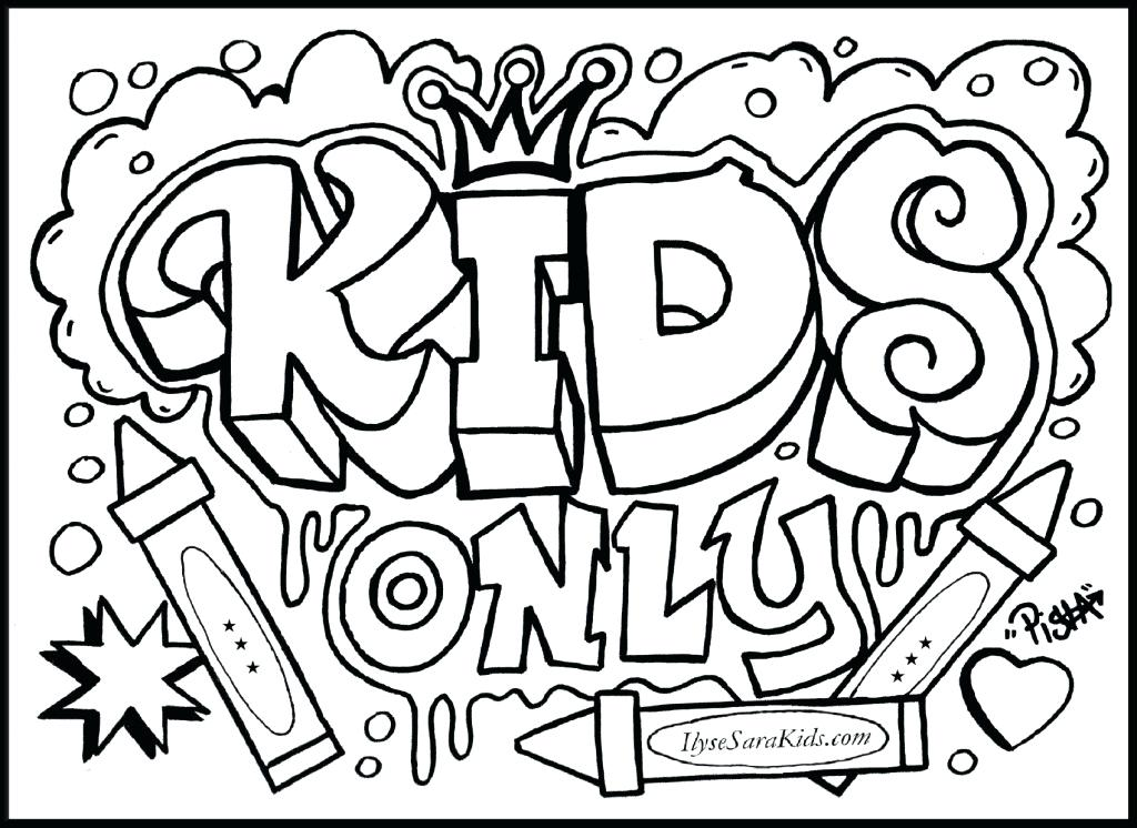 1024x746 Intricate Coloring Pages For Kids Intricate Design Coloring Page