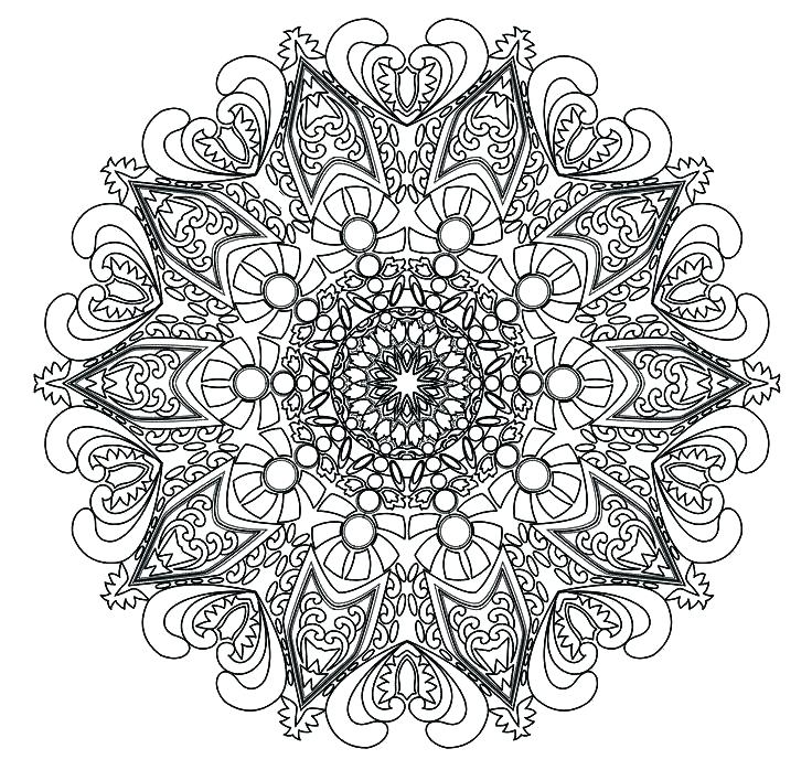 736x698 Intricate Design Coloring Pages Intricate Coloring Pages Awesome
