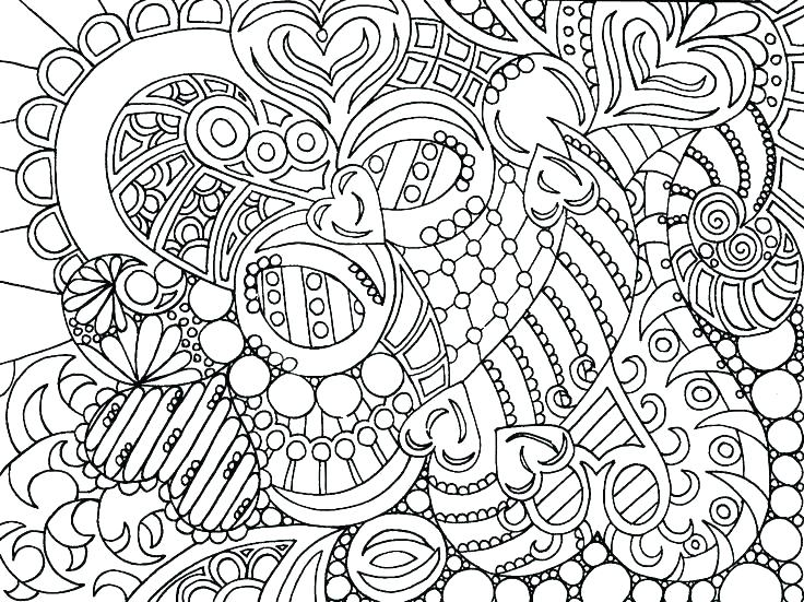 736x551 Intricate Design Coloring Pages Intricate Coloring Pages Intricate