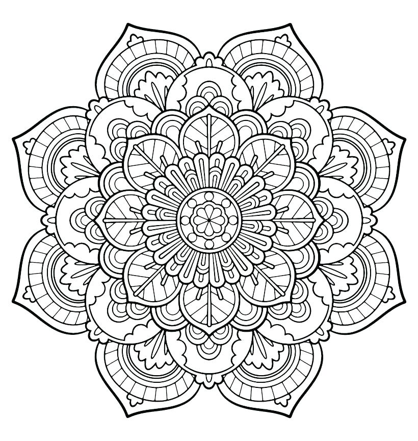 820x864 Intricate Design Coloring Pages Intricate Coloring Pages Many