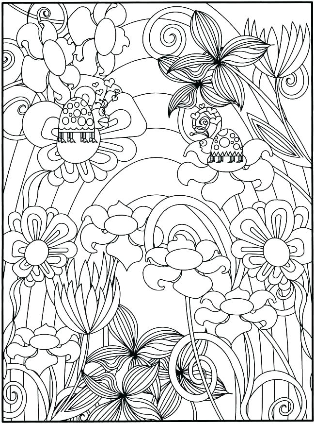 650x873 Intricate Design Coloring Pages Intricate Design Coloring Pages