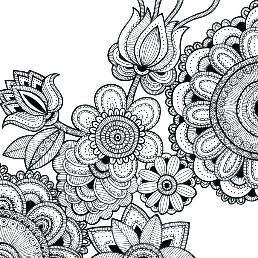 863x863 Adult Colouring And Free Coloring Sheets Intricate Design Coloring